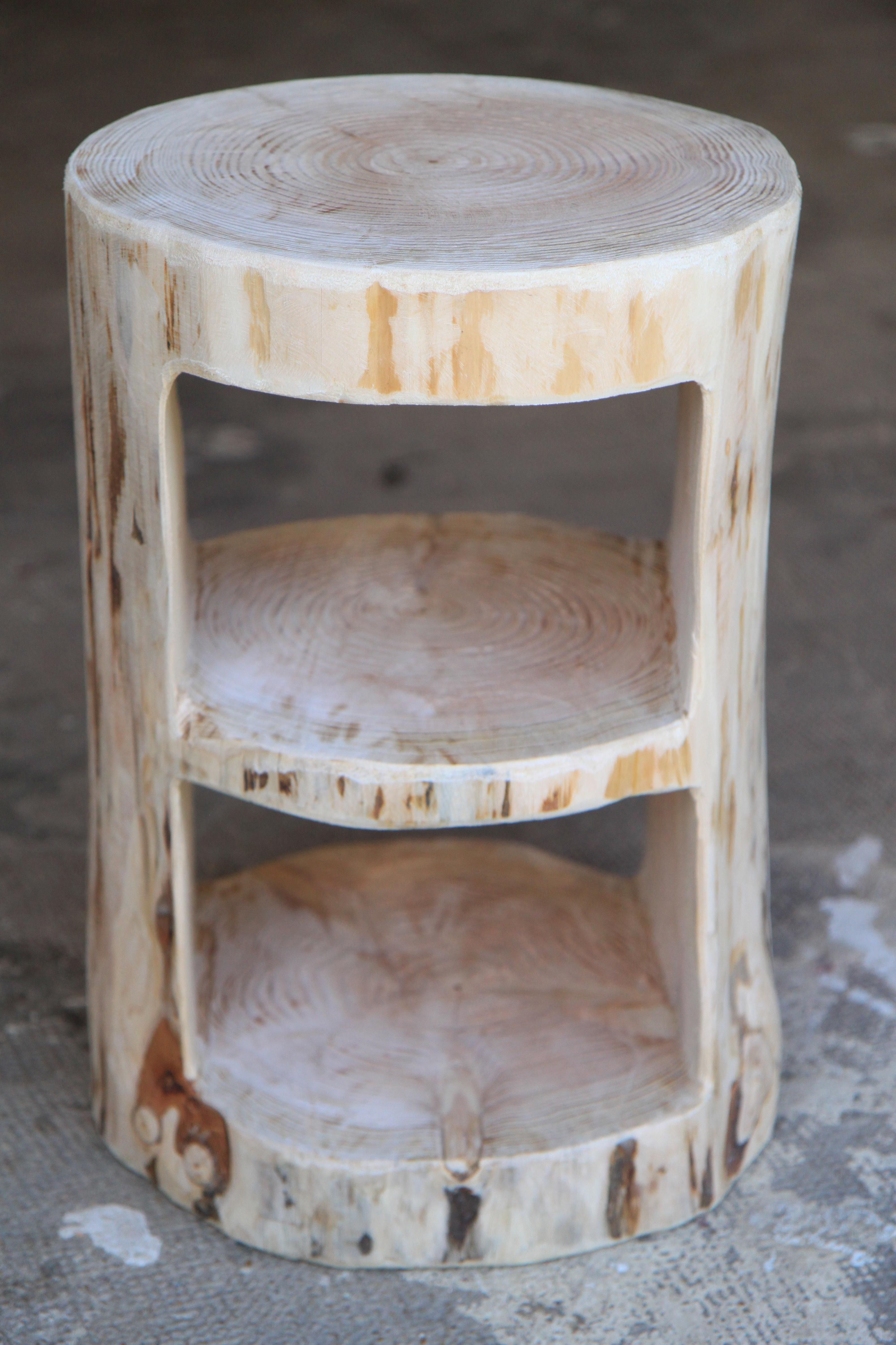 Rondin De Bois Table De Chevet décoration | les fustes normandes